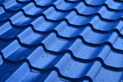 Металлочерепица (0,40мм) Синяя (RAL 5005)