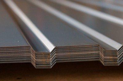 Профнастил ПС-10 (0,35мм) Цинк (1,18)