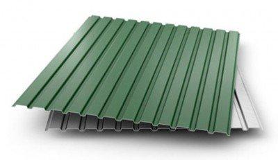Профнастил ПС-10 (0,32мм) Зеленый (1,18) (RAL 6005)