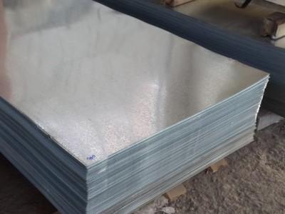 Лист оцинкованный плоский (1,25*2,02) 0,50 мм