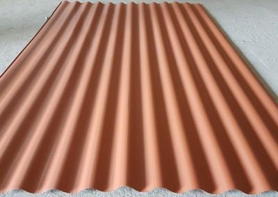 Волнистый профиль МП-18 (0,45мм) Шоколадный (RAL 8017)